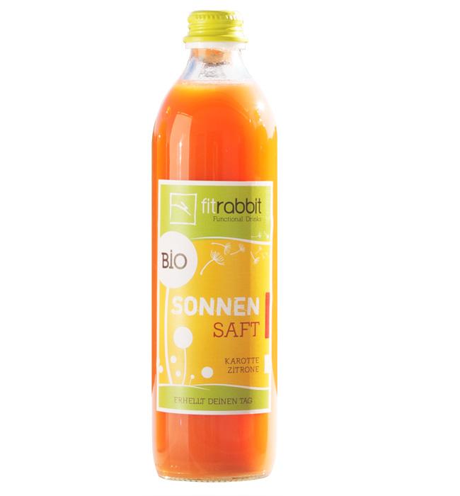 BIO Sonnen Saft - 100% Bio-Fruchtsaft - Karotte Zitrone