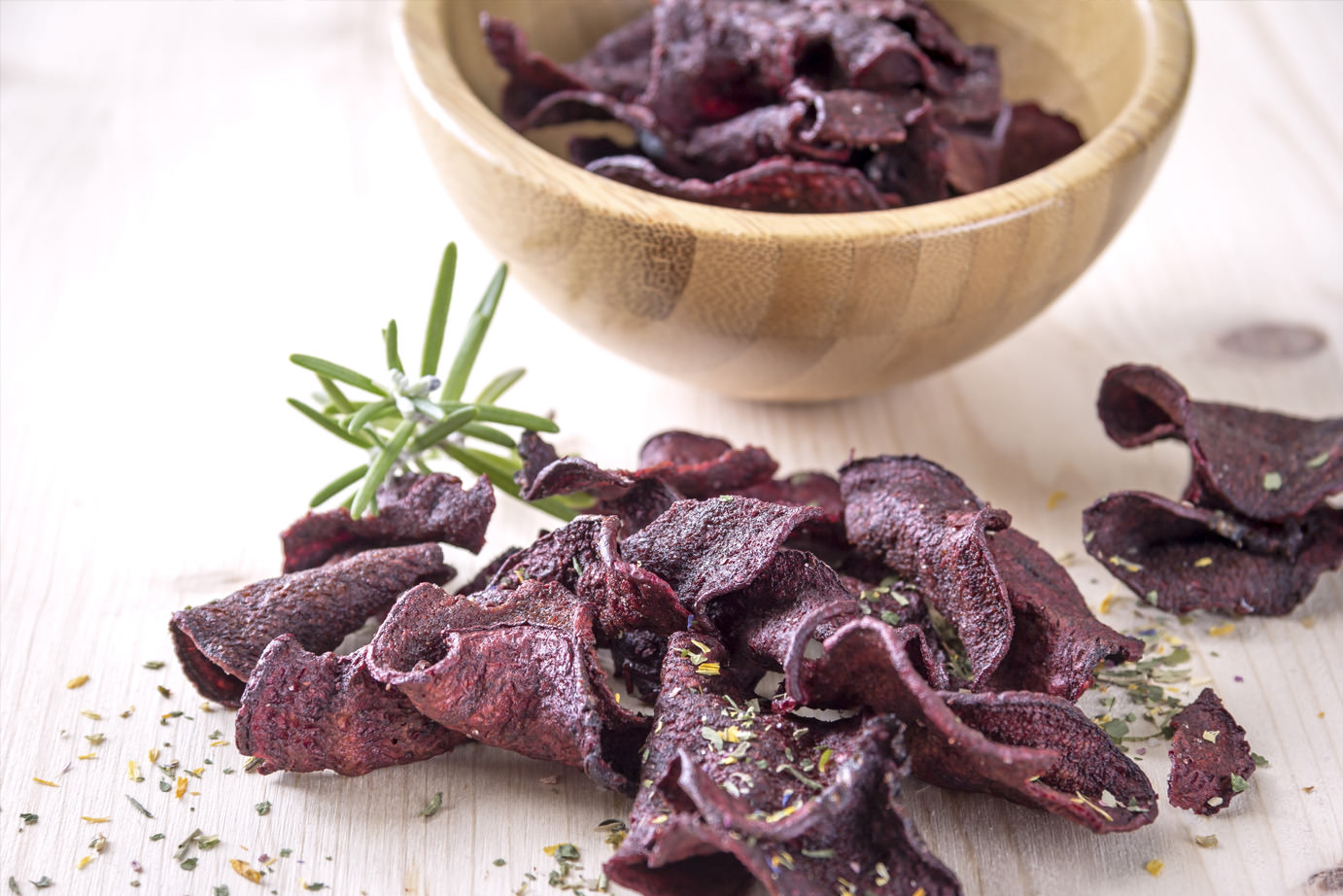 Knusprige Rote Bete Chips